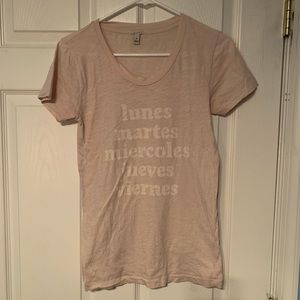 J. Crew Days of the Week T Shirt